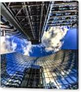 Lloyd's And Willis Group London Canvas Print
