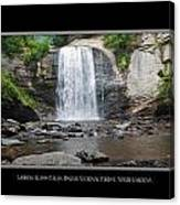 Looking Glass Falls North Carolina Canvas Print