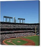 Los Angeles Dodgers V. San Francisco Canvas Print