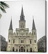 Louis Cathedral Canvas Print