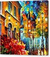 Lucky Night Canvas Print