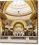 Madison Capitol Canvas Print