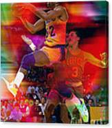 Magic Johnson Canvas Print