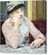 Manet's Plum Brandy Canvas Print