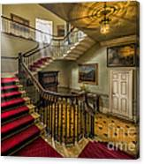 Mansion Stairway Canvas Print