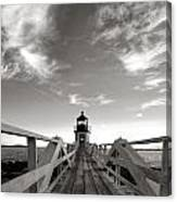 Marshall Point Light Canvas Print