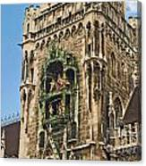 Mechanical Clock In Munich Germany Canvas Print