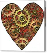Mechanical Heart Canvas Print