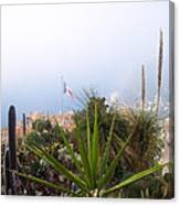 Mediterranean Below Eze Canvas Print