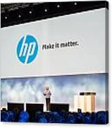 Meg Whitman At Hp Discover 2012 Canvas Print