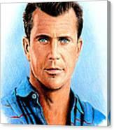 Mel Gibson Canvas Print