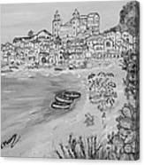 Memorie D'estate Canvas Print