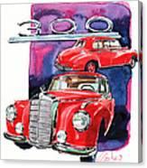 Mercedes 300 Canvas Print
