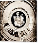 Mercury Wheel Emblem Canvas Print
