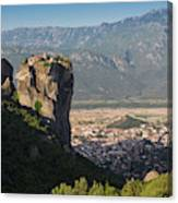 Meteora, Thessaly, Greece. The Eastern Canvas Print