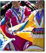 Mexican Folk Dancers Canvas Print