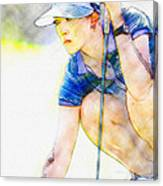 Michelle Wie - Third Round Of The Lpga Lotte Championship Canvas Print