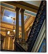 Michigan Capitol Building Canvas Print