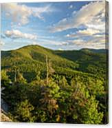 Middle Sugarloaf Mountain - Bethlehem Nh Usa Canvas Print