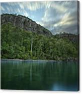 2 Mile Point Cliffs Canvas Print
