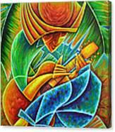 Minstrel Canvas Print