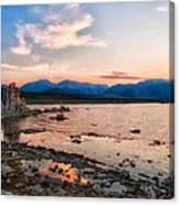 Mono Lake Sunset Canvas Print