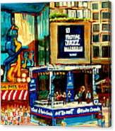 Montreal International Jazz Festival Canvas Print