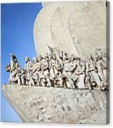Monument To The Discoveries In Lisbon Canvas Print