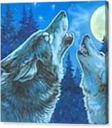 Moon Song Canvas Print