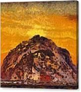 Morro Rock 3007 Canvas Print