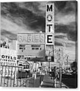 2 Motels Canvas Print