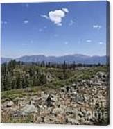 Mount Tallac Trailhead  Canvas Print