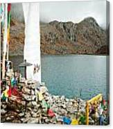 Mountain Lake Gosaikunda Nepal Canvas Print