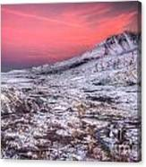 Mt. St. Helens Sunset Canvas Print