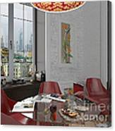 My Art In The Interior Decoration - Elena Yakubovich Canvas Print