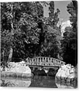 National Garden In Athens Canvas Print