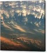 Nebraska Mammatus Sunset Canvas Print