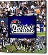 New England Patriots Canvas Print