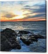 New Haven Sunset Canvas Print
