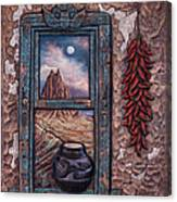 New Mexico Window Canvas Print