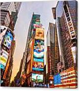 New York City - Times Square Canvas Print