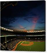 New York Mets V New York Yankees Canvas Print