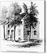 New York Senate, 1777 Canvas Print