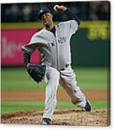 New York Yankees V Seattle Mariners Canvas Print
