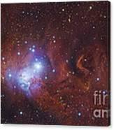 Ngc 2264, The Cone Nebula Region Canvas Print