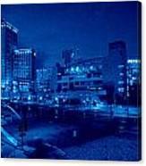 Night Shoot Canvas Print