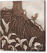 Nut Maze Canvas Print