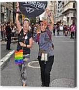 Nyc Gay Pride 2011 Canvas Print