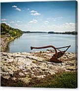 Ohio River At Elizabethtown Illinois Canvas Print