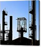 Oil Refinery Canvas Print